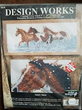 Cross Stitch Kit ~ Design Works Free Spirits Horses in the Waves 9838 Cummings