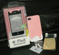 Switcheasy Melt Iphone 4 4s pink white hard case cover SW-MEL4S-P NEW For Apple