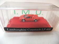 LAMBORGHINI CONTACH LP 400 1:160 Traccia N OVP/BOX IMU METALLO. #999