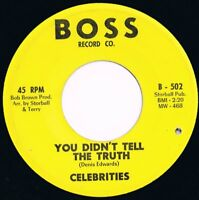 Celebrities You Didn't Tell The Truth  Northern Soul Boss Record