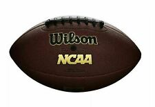 Wilson Icon Ncaa Official Size Football w/Black Laces Brand New - Free Shipping