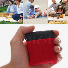 Compact Outdoor Garden Camping Beach Picnic Pocket Blanket Mat Nylon Waterproof