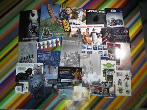 Star Wars Celebration media Memorabilia V, VI Orlando Guides promo flyers