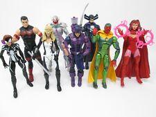 Marvel Legends Lot Hawkeye Mockingbird Vision Scarlet Witch Wonder Man Ultron