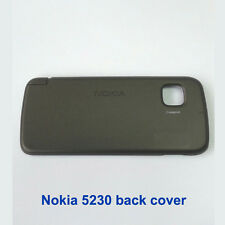 100% Genuine New Original Nokia 5230 Back Battery Cover Fascia Housing - Black