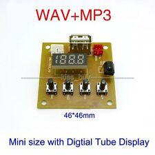 Digital display 5V MP3 KIT WAV MP3 Player Audio Decoding Decoder Module Board
