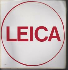 """2x Leica Vinyl Decal Sticker 2/"""" dual colors Red White"""