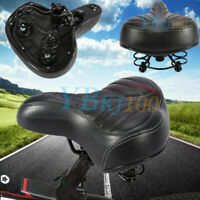 Comfort Extra Higher Wide Thicken Bike Bicycle Cruiser Sporty Soft Saddle Seat