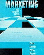 Very Good, Marketing: Concepts and Strategies, Dibb, Sally, Paperback