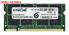 NEW 2GB 4GB  2RX8 PC2-5300S DDR2-667MHz 200pin SODIMM Laptop Memory CL5 1.8V