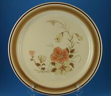 "Pair (2) Hearthside Water Colors Blush stoneware 10.5"" dinner plates ~NEAR MINT"