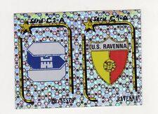 figurina CALCIATORI PANINI 1992/93 NUMERO 512 SCUDETTO PRO SESTO - RAVENNA
