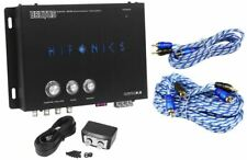 Hifonics BXIPRO2.0 Digital Bass Processor w/ Remote + 17' & 6' RCA Cables