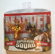 SUPER HERO SQUAD 2-pack Phoenix and Wolverine X-men MIB