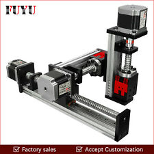 CNC Linear Rail Guide Ball Screw Slide XYZ Motion Stage Actuator Position System