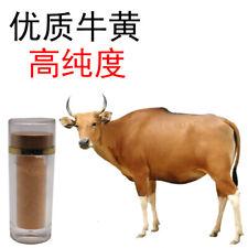 5g Niu Huang Powder cattle ox cow gallstones bezoar herb Powder 99% purity