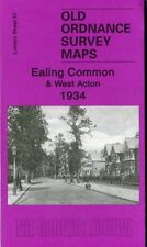 DETAILED ORDNANCE SURVEY MAP EALING COMMON & WEST ACTON 1934 WITH FREE UK P&P