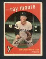 1959 Topps #293 Ray Moore VG/VGEX White Sox 65084