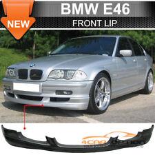 Fits 99-01 BMW E46 4Dr Sedan Urethane Front Bumper Lip Spoiler