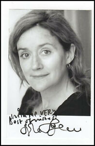 Sophie Thompson Mafalda Hopkirk Harry Potter Orig Hand Signed Autograph Photo