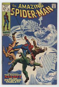 Amazing Spider-Man 74 Marvel 1969 FN Silvermane Stan Lee John Romita