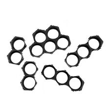 10PC 18650 Battery Cell Spacer Holder Radiating Flat Bracket Safety Dislocation