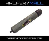 Vibracheck Archery Compound Bow Stabilizer - CAMO - Fits: PSE, DIMOND, BOWTECH,