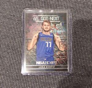 Luka Doncic 18/19 Panini NBA Hoops 'We Got Next' Rookie Card #WGN-3📈🔥