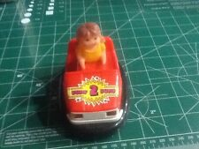 Vintage Datsun  Bump Bump Cars Works Rare Mystery Bump-n-Go Battery Operated
