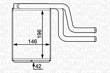 Wärmetauscher Heizungskühler für FORD Mondeo Schrägheck 1.6-3.0L 1993-2007