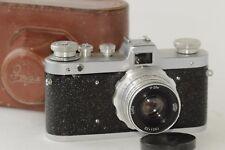 FED ZARYA (ZARIA) CAMERA RUSSIAN USSR  + INDUSTAR-26m lens