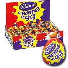 Box of 48 eggs Cadbury Cream Creme Eggs. FREE DELIVERY. Easter fresh stock