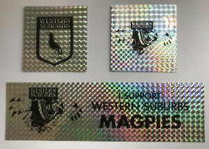 1990's WESTERN SUBURBS MAGPIES 8 Stickers