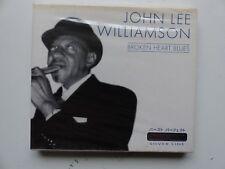 CD Album JOHN LEE WILLIAMSON Broken heart blues SILVER LINE 205748 203