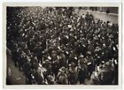 1916 Australian Soldiers Covered by Flowers Marseille France 5x7 Original Photo