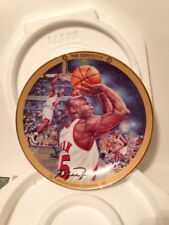 "Michael Jordan ""THE COMEBACK"" Bradford Exchange Collectible Plate"