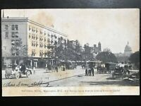Vintage Post Card>1901-1907>National Hotel>Pennsylvania Ave>Washington, D.C.