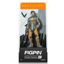 Valve's Half-Life 2 Gordon Freeman Collectible Enamel Pinback By FiGPiN