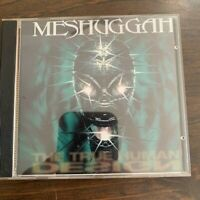 MESHUGGAH - THE TRUE HUMAN DESIGN (CD) RARE OUT OF PRINT METAL