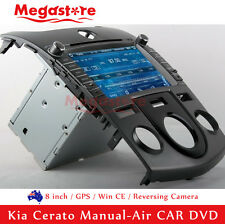 "8"" Car DVD Navigation GPS Head Unite Stereo For Kia Cerato Manual-Air 2011-2012"