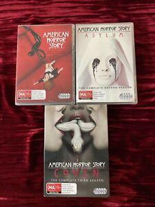 American Horror Story Seasons 1 - 3 DVD