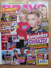 BRAVO 24/2014 TAYLOR SWIFT,CLEO,Hunger Games,Hobbit,Calvin Harris,Miley Cyrus