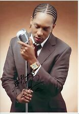 LEMAR - Signed 12x8 Photograph - MUSIC - SINGER