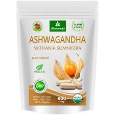 Ashwagandha 120 Veggie Kapseln 600mg - zertifizierte Top Qualität (1x120)