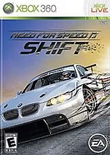 Need for Speed Shift Xbox 360 Kids Game Complete Very Good Street Car Racing 1 I