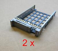 "2 x Cisco 2.5"" Hard Drive Tray HDD Disk Caddy Bracket 800-35052-01 UCS Servers"
