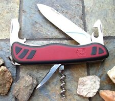Victorinox The NOMAD Red & Black Swiss Army Knife 54835 NEW! Authorized Dealer