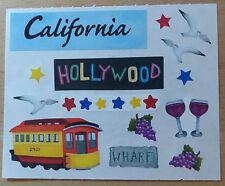 "Creative Memories Aufkleber""California"" NEU/RAR"