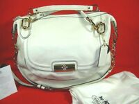 New Coach Kristin Elevated Leather Sage Round Satchel F18280  MSRP $698