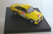 TROFEU 2502 FORD ESCORT RS1800  model rally car Tarmac Timo Makinen Liddon 1:43